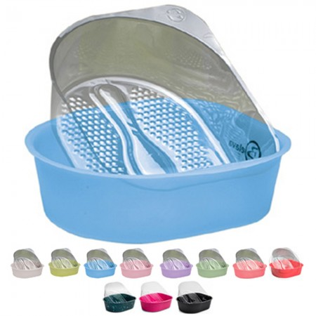 BELAVA - Pedicure Tub Start-Up Kit With 20 Disposable Liners - Blue
